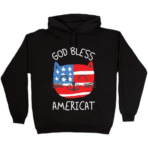 God Bless Americat Hooded Sweatshirt