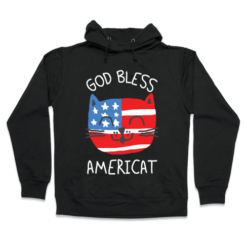 God Bless Americat Hooded Sweatshirt