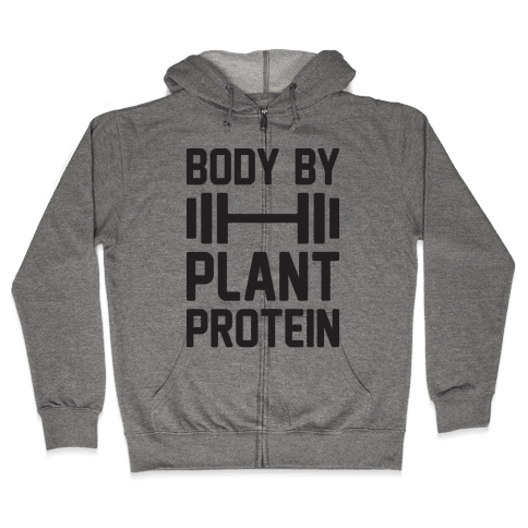 Body By Plant Protein Zip Hoodie