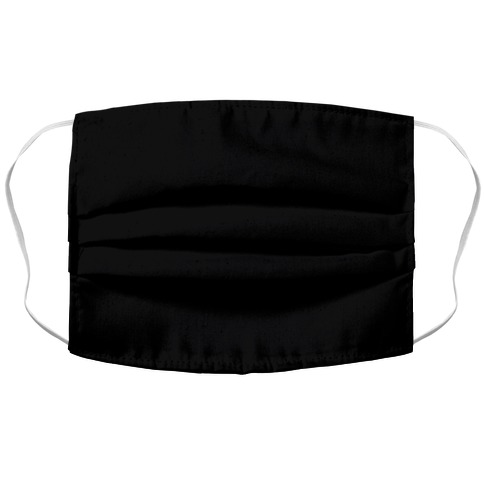Black Face Mask Cover