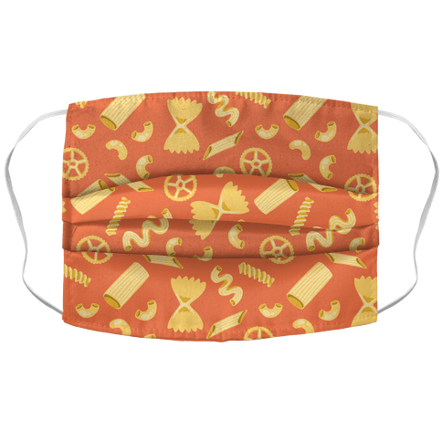 Noodle Pattern Face Mask Cover