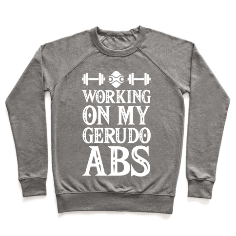Working On My Gerudo Abs Pullover
