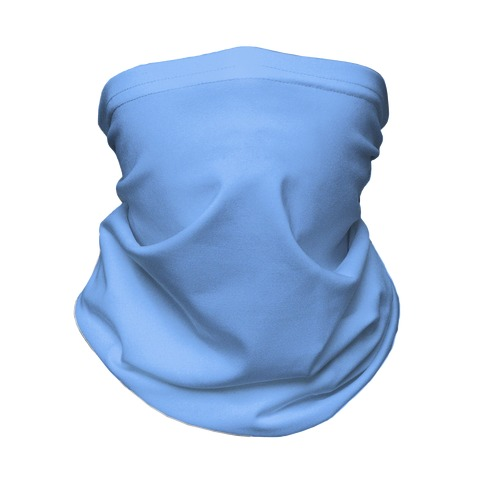 Denim Blue Neck Gaiter Neck Gaiter