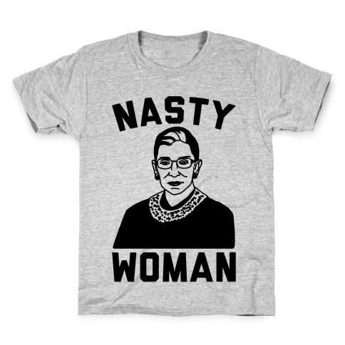 Nasty Woman RBG Kids T-Shirt