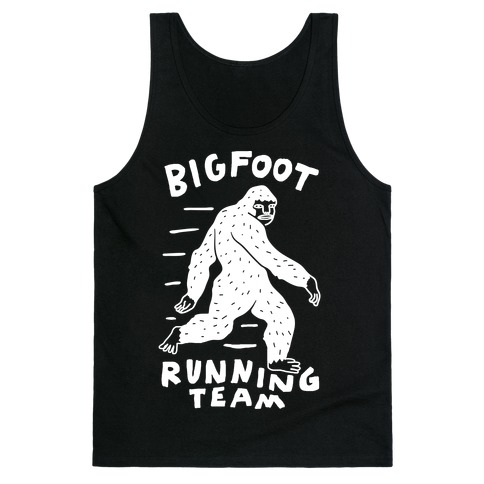Bigfoot Running Team Tank Top