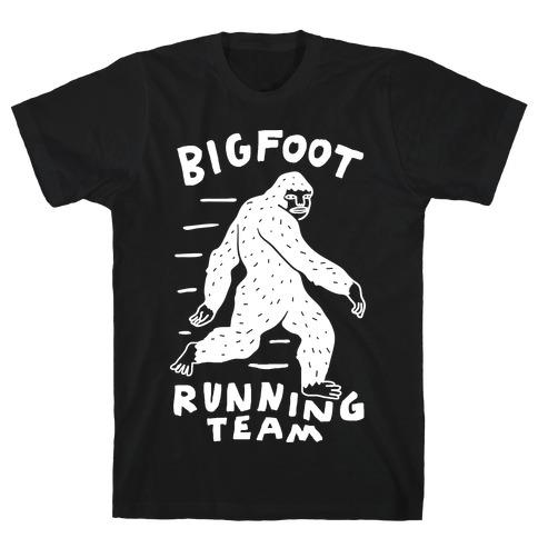 Bigfoot Running Team T-Shirt