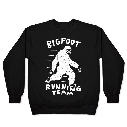 Bigfoot Running Team Pullover