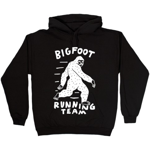 Bigfoot Running Team Hooded Sweatshirt