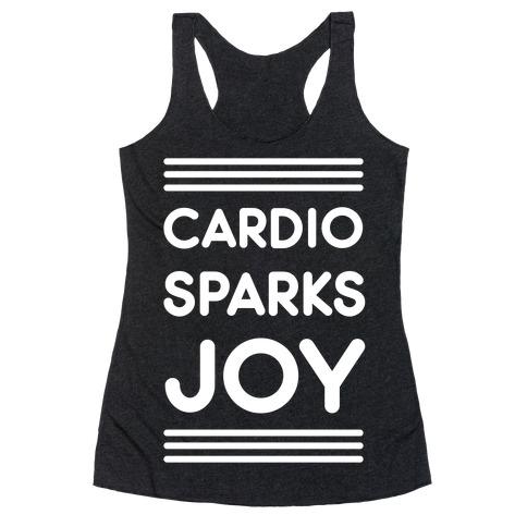 Cardio Sparks Joy Racerback Tank Top