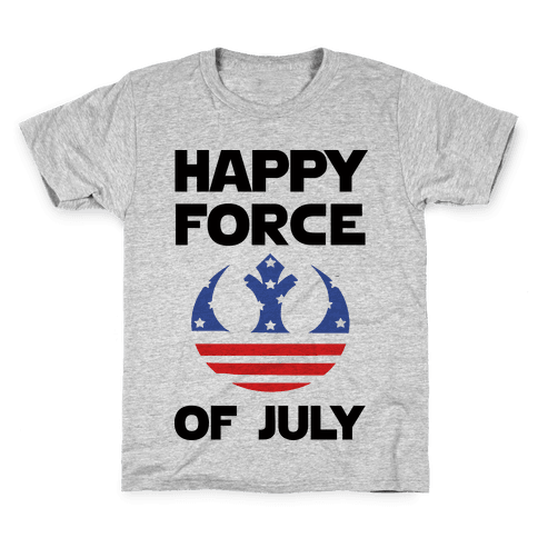 Happy Force Of July Kids T-Shirt