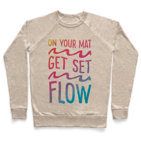 On Your Mat Get Set Flow Yoga Pullover