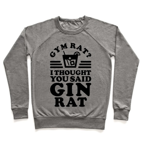 Gym Rat Gin Rat Pullover