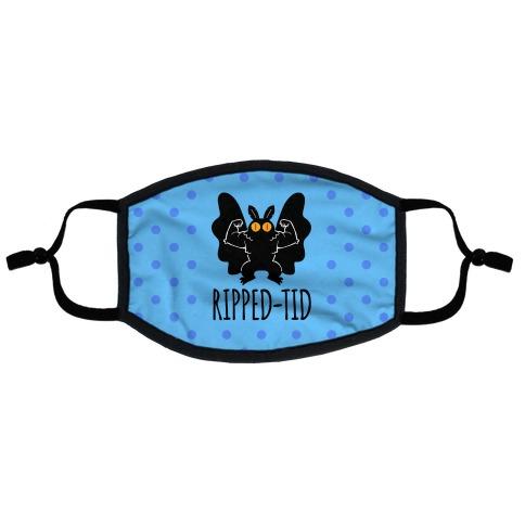 Ripped-tid Flat Face Mask