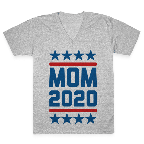 Mom 2020 V-Neck Tee Shirt