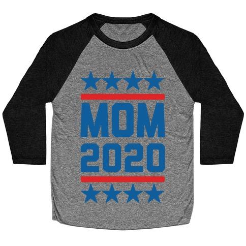 Mom 2020 Baseball Tee
