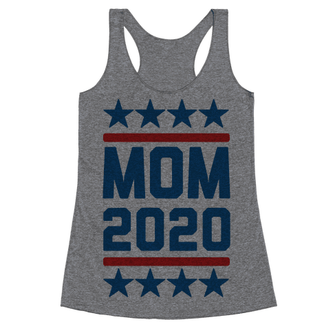 Mom 2020 Racerback Tank Top