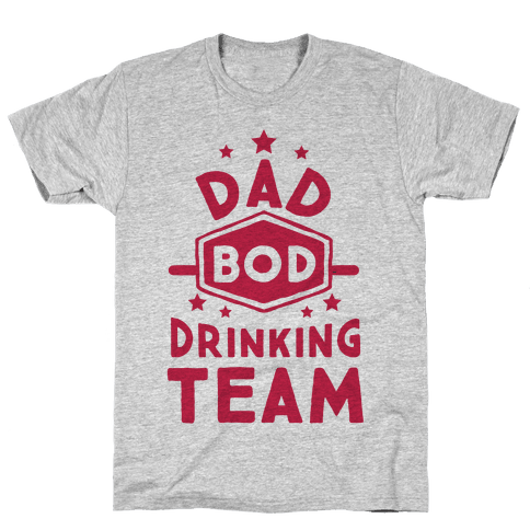 Dad Bod Drinking Team Mens T-Shirt