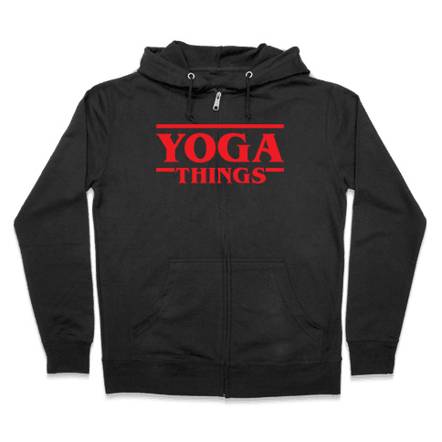 Yoga Things Zip Hoodie
