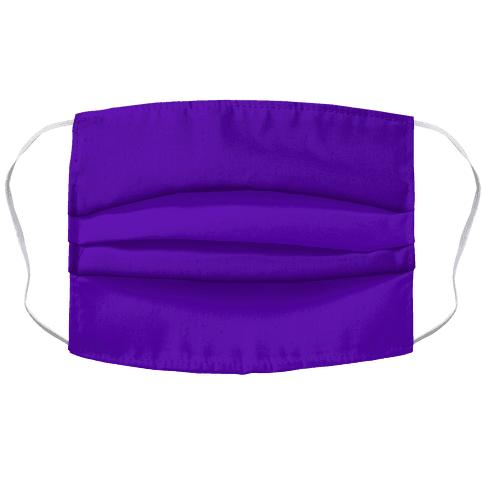 Purple Accordion Face Mask