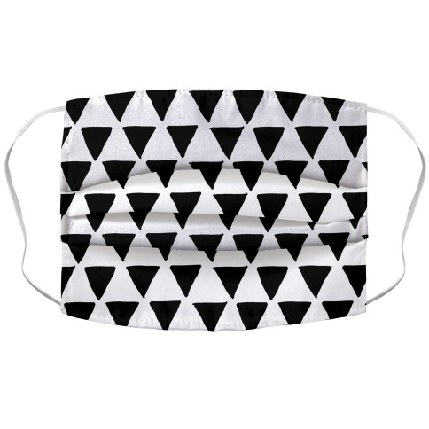 Triangle Pattern Face Mask