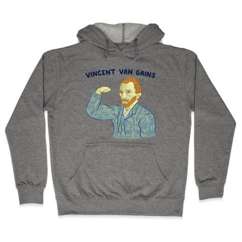 Vincent Van Gains Hooded Sweatshirt