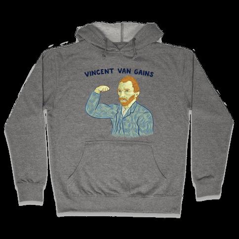 Vincent Van Gains Hooded Sweatshirt