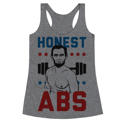 Honest Abs Racerback Tank Top