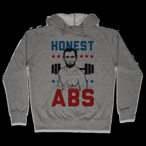 Honest Abs Hooded Sweatshirt