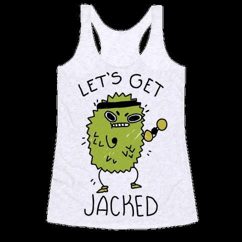 Let's Get Jacked Fruit Racerback Tank Top