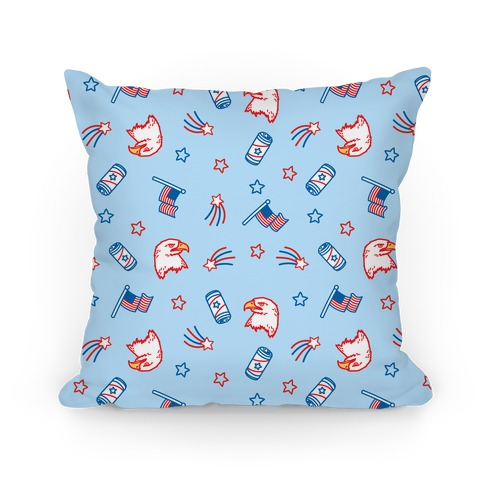 Merica Pattern Pillow