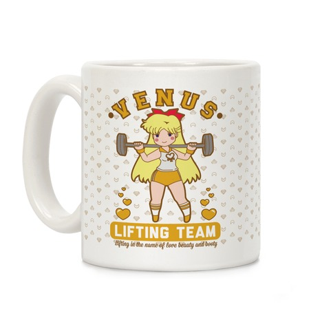 Venus Lifting Team Parody Coffee Mug