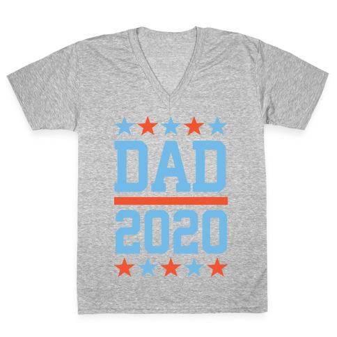 DAD 2020 V-Neck Tee Shirt