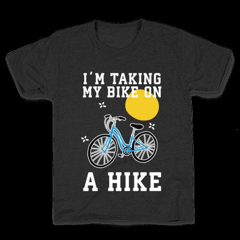 Bike Hike Kids T-Shirt