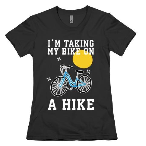 Bike Hike Womens T-Shirt