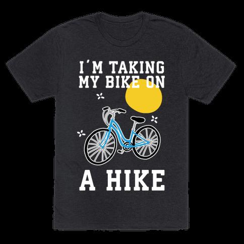 Bike Hike Mens/Unisex T-Shirt