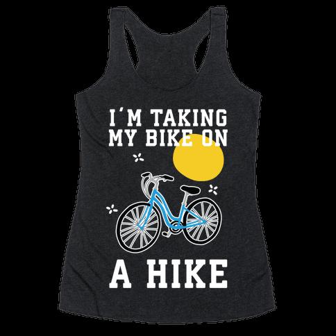 Bike Hike Racerback Tank Top