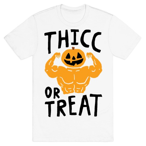 Thicc Or Treat Halloween T-Shirt