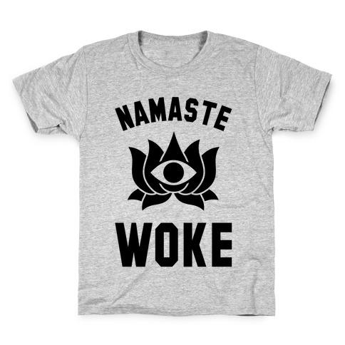 Namaste Woke Kids T-Shirt