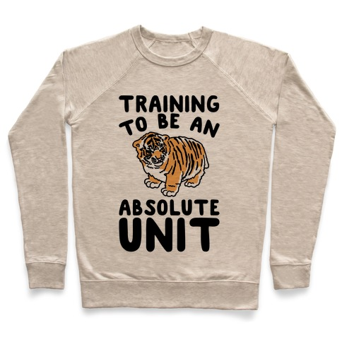 Training To Be A Absolute Unit Pullover