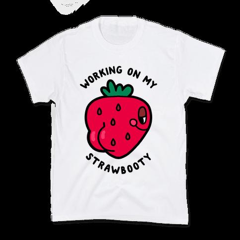Strawbooty Kids T-Shirt