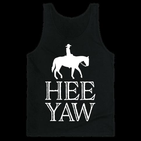 Hee Yaw Cowboy Tank Top