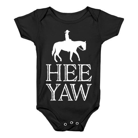 Hee Yaw Cowboy Baby Onesy
