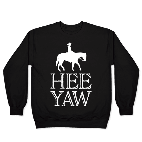 Hee Yaw Cowboy Pullover