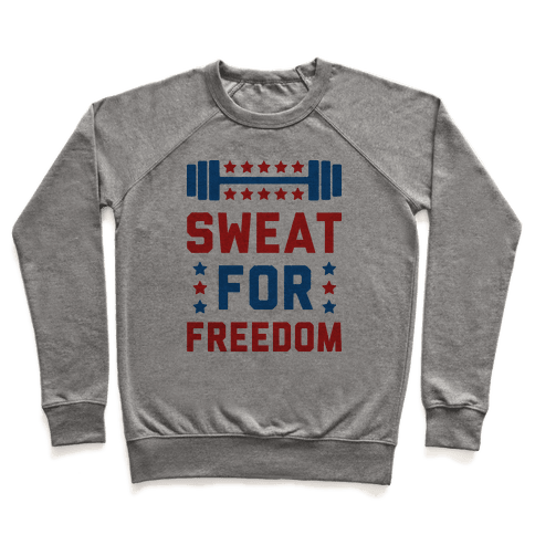 Sweat For Freedom Pullover