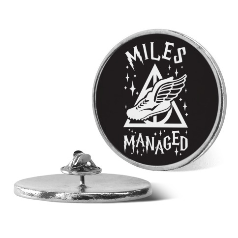 Miles Managed pin