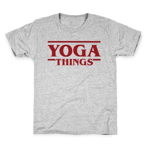 Yoga Things Kids T-Shirt