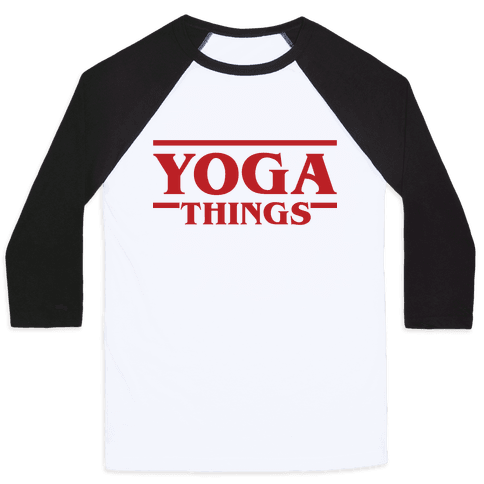 Yoga Things Baseball Tee
