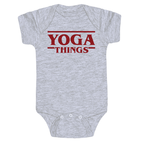Yoga Things Baby Onesy