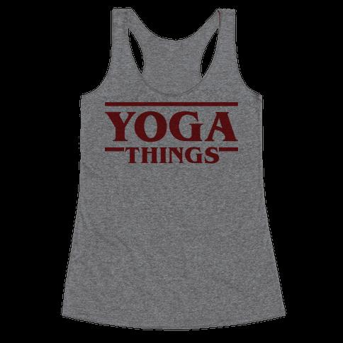 Yoga Things Racerback Tank Top