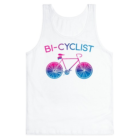 Bisexual Bi-Cyclist Tank Top